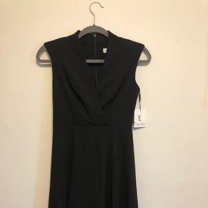 Calvin Klein Brand New Formal Black Dress